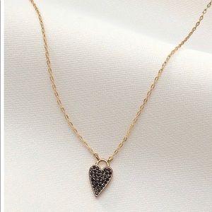 Stella & Dot Delicate Heart Necklace